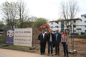 GF Kempeni - Architekt Heinrich - Bauunternehmer Heitz - Abt.-Leiterin Kiefer